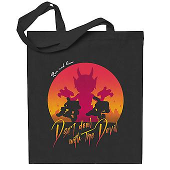Cuphead Deal With the Devil Totebag