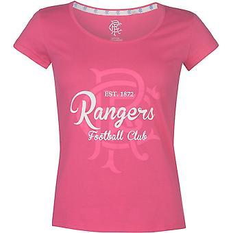 Sin marca FC Crest Impresión Camiseta Damas