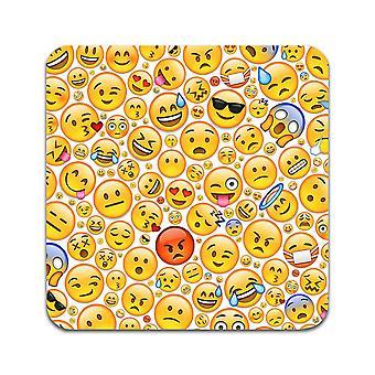2 ST Emoji Coasters