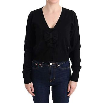 Black Wool Blouse Sweater -- SIG3662384