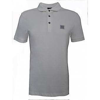 Hugo Boss Casual Hugo Boss Men's Passenger Slim Fit Beige Polo Shirt
