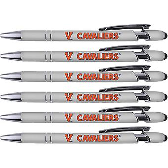 Stylo de vœux Virginia Soft Touch Coated Metal 6 Pack 30534