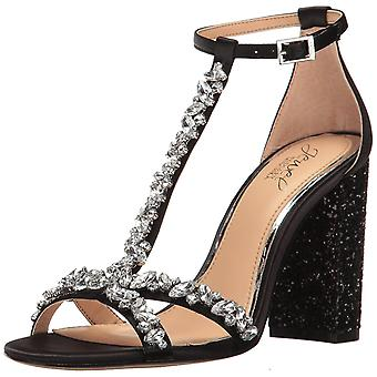 BADGLEY MISCHKA Womens Carver Open Toe Special Occasion Ankle Strap Sandals