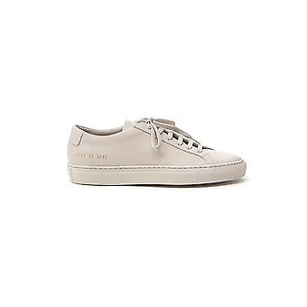 Common Projects 37013012 Women's Beige Leather Sneakers