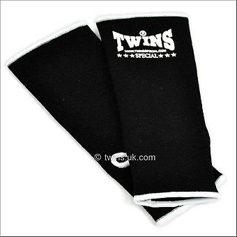 Twins special black ankle supports