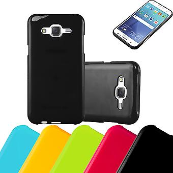 Cadorabo Case for Samsung Galaxy J5 2015 Case Cover - Mobile Phone Case made of flexible TPU silicone - Silicone Case Protective Case Ultra Slim Soft Back Cover Case Bumper
