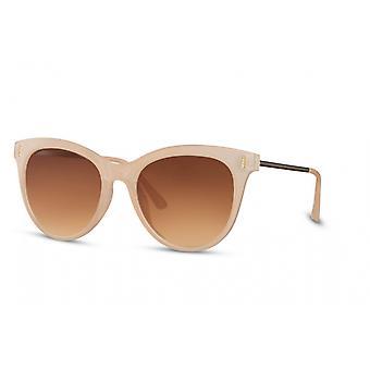 النظارات الشمسية المرأة بانتو كامل حافة كات. 3 بيج/ بني