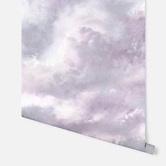 260008 - Diamond Galaxy Lilac - Arthouse Bakgrunn