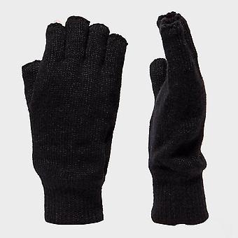 Peter Storm Women's Thinsulate Fingerless Gloves Black
