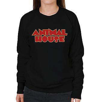 Animal House Red Logo Mujeres's Sudadera