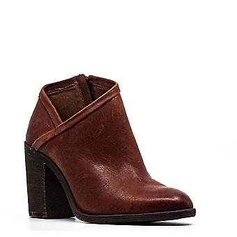 Lucky Brand | Salza Brindle Oiled Suede Block Heel Ankle Booties
