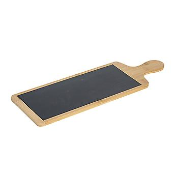 Slate Bamboo Food / Antipasti Serving Paddle Board 455x150mm