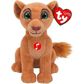 Ty Beanie Babie - Disney Nala Plush with sound Kids Toy