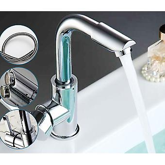 Bathroom Faucets Mixer 360-degree Swivel Easy Wash For Basin/sink And Kitchen