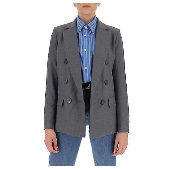 Michael von Michael Kors Mf01eztesj011 Frauen's graue Wolle Blazer