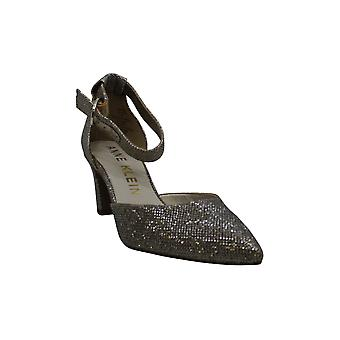 Anne Klein Women's Shoes Knell Pointed Toe Ankle Strap Classic Escarpins