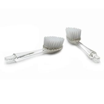 Radius Toothbrushes Replacement Head Medium, 2 pk