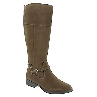 Easy Spirit Women's Shoes Leigh Leather Closed Toe Knee High Fashion Boots