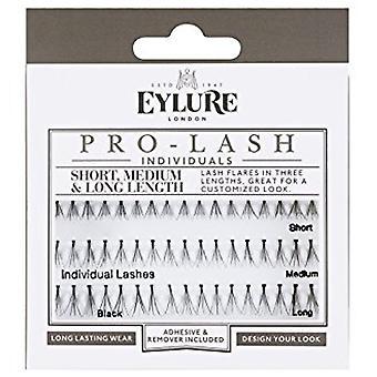 Eylure Pro Lash Individuals - Short - Medium - Long (adhesive & Remover Included)