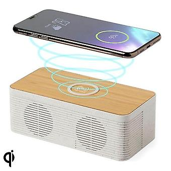 Bluetooth speaker with wireless charger 5W