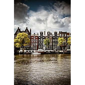 Amsterdam Canal I Poster Print by Erin Berzel