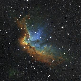 NGC 7380 Hubble-paletti värit Juliste Tulosta