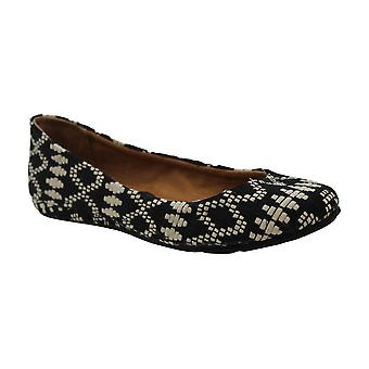 American Rag Womens ELLIE Fabric Closed Toe Slide Flats