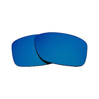 Polarized Replacement Lenses for Oakley Jury Sunglasses Anti-Scratch Blue Mirror