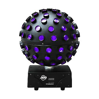 Adj products starburst five color ball fixture