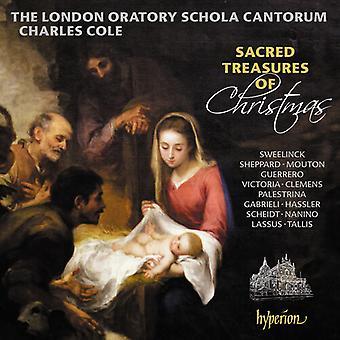 Sacred Treasures Of Christmas [CD] USA import