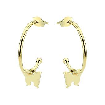 Butterfly Gold Earring