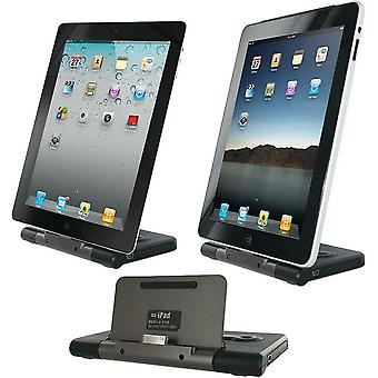 Apple Dock Stand and Portable Backup Battery 8 Hour for 30 Pin iPhone iPad iPod