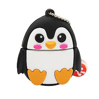 Cute Cartoon Penguin/owl/fox Style Flash Drive Usb/creative Pendrive
