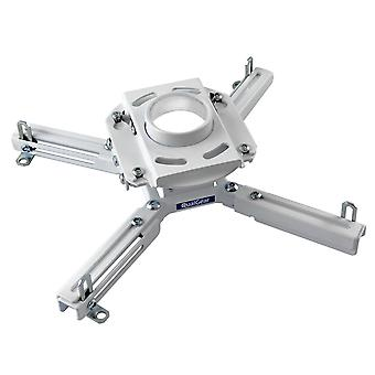 Qualgear qg-pro-pm-50-w 1.5-inch pro-av threaded extension pipe mount accessory for projector white