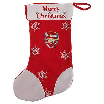 Arsenal FC Official Light Up Football Crest Christmas Present Stocking