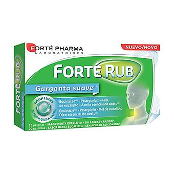 Forté Rub Soft Throat None