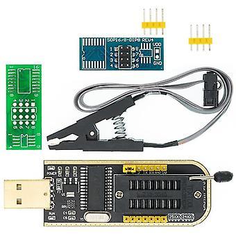 Module programmeur Usb + Soic8, Clip de test Sop8 Pour Eeprom 93cxx / 25cxx / 24cxx