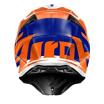 Airoh Twist Mix Helmet Gloss Orange/Black DD-Ring Fastening ACU Approved