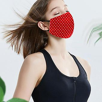 Rayas de algodón para adultos, reutilizables, lavables, máscaras faciales a prueba de polvo