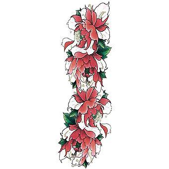 Fake Tattoo Helarm Flowers
