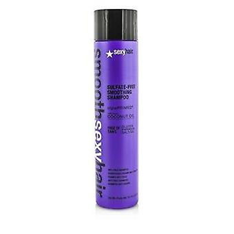 Smooth Sexy Hair Sulfate-Free Smoothing Shampoo (Anti-Frizz) 300ml or 10.1oz