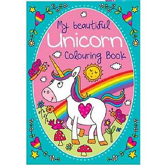 Martello a4 - 'my beautiful unicorn' colouring book - 70 designs to colour - ideal gift stocking fil