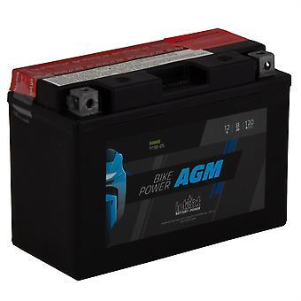 intAct YT9B-BS Maintenance Free AGM Bike-Power Battery