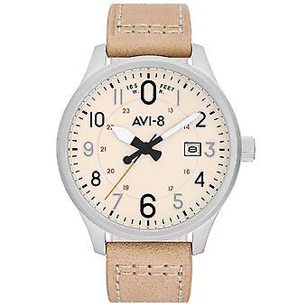 Mens Ρολόι Avi-8 AV-4053-0H, Χαλαζία, 44 χιλιοστά, 5ATM