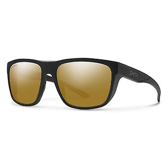Smith Barra 003/QE Matte Black/Brown Mirror Gafas de sol