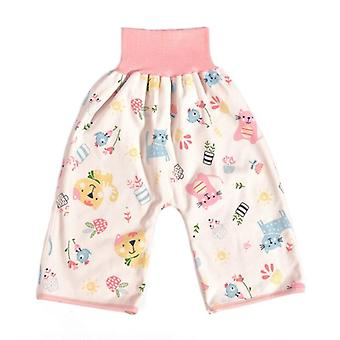 Comfy Baby Diaper Skirt, Shorts, Pure Cotton, Anti Bed-wetting, Waterproof