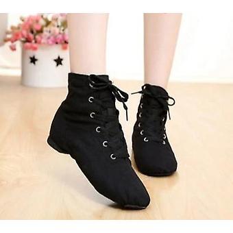 Μαλακά παπούτσια τζαζ χορού υφασμάτων, αθλητικά αθλητικά αθλητικά παπούτσια