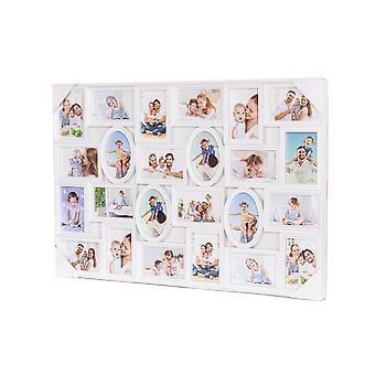 Xl fotolijst collage voor 24 foto's van (15x10 & 10x15 cm)