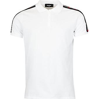 Dsquared2 Tape Tennis Polo Shirt