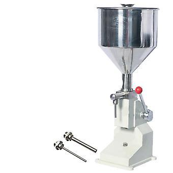 Nueva máquina de llenado manual (5 ~ 50ml) para relleno de champú crema